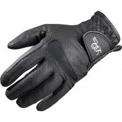 Lag Perforé gloves Black