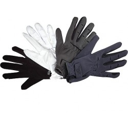 Lag Domi-Sued gloves kids Black