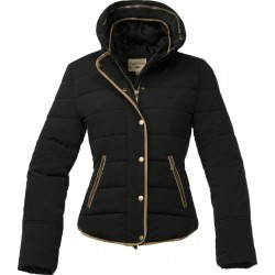 Equi-Theme Silhouette quilted jacket Black