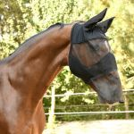FLY MASK WITH EAR AND NOSE PROTECTION