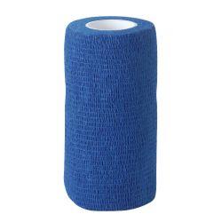 Bandage auto-adhésif EquiLASTIC Kerbl Bleu