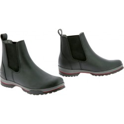 EQUITHÈME Sheepskin lined boots Black