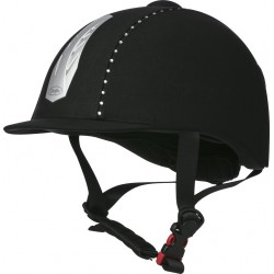 CHOPLIN Aero Strass adjustable helmet Black / strass