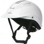 Casco Equi-Theme Chrome Blanco brillante