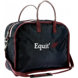 EQUIT'M Groom bag Navy blue / burgundy