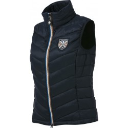 EQUIT'M Sleeveless quilted waistcoat