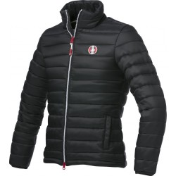 EQUITHÈME Quilted jacket Black