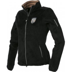 EQUIT'M Long fibre polar fleece jacket Black
