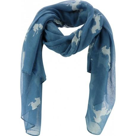 Etole Chevaux Equi-Theme Bleu   blanc 6aa210da0e5