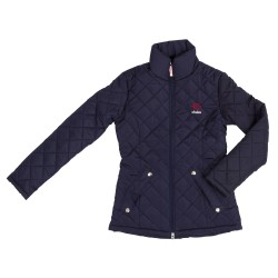 Covalliero Quilted Jacket for women Navy