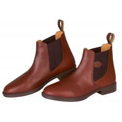 Covalliero Riding Half-Boot Leather Classic Brown