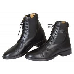 Boots en cuir Monaco noir Covalliero