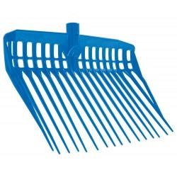 Fourche à copeaux EcoFork sans manche Bleu