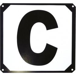 Set de 12 lettres de manège support métallique