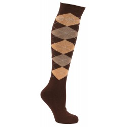 Covalliero Riding Socks Brescia Brown