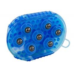 Etrille de massage magnétique Bleu royal