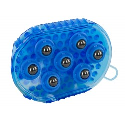 Magnetic Massage Curry Comb Royal blue