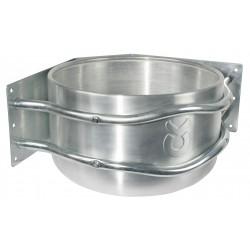 Comedero redonda aluminio 18l Kerbl