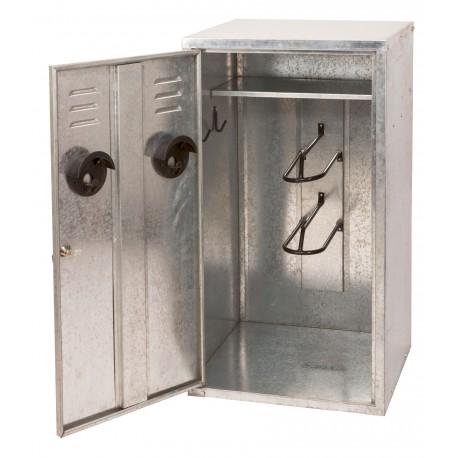 armoire de sellerie en kit 2 selles kerbl 60 x 60 x 150 cm. Black Bedroom Furniture Sets. Home Design Ideas