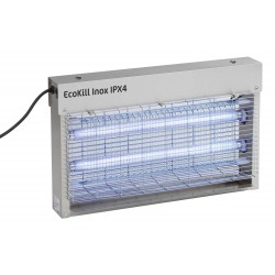 matamoscas electrico inox Ecokill IPX4 azúl