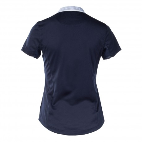 Horze Blaire Women/'s Short-Sleeved Functional Show Shirt Powder Blue