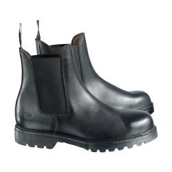 Boots Jodhpurs de sécurité Horze Noir