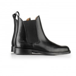Horze Classic Leather Jodhpur Boots Black