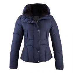 PFIFF QUILTED JACKET MOLLYMOOK Navy blue