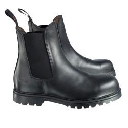 Boots Jodhpurs de sécurité Horze juniors Noir
