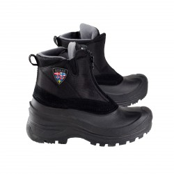 Horze Zip Stable Boots Black
