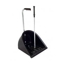 Manure Shovel + rake Black