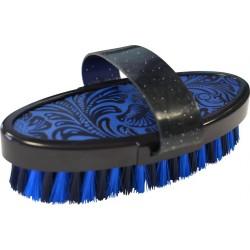 """Hippo-Tonic """"Flower"""" body brush Blue"""