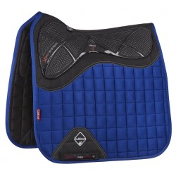 LeMieux X-Grip Silicone Dressage Square Benetton blue