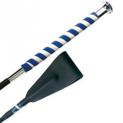Fleck Nubuck handle whip