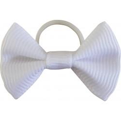 Nœuds à natter Equi-Theme en tissu par 20 Blanc