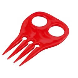 4-teeth mane plaiting comb