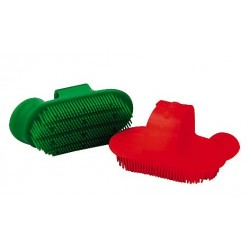 Plastic sarvis Curry comb, small