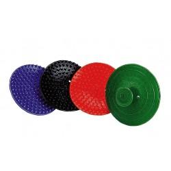 Étrille plastique ronde à picots