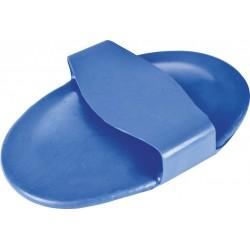 Étrille caoutchouc à picots Bleu