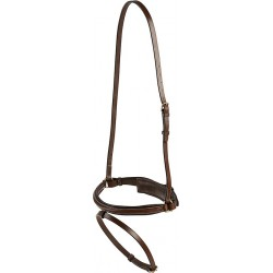 "ERIC THOMAS ""Pro"" thin Swedish noseband Black"