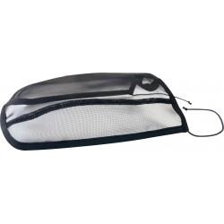 Protector de ollares de malla antimoscas