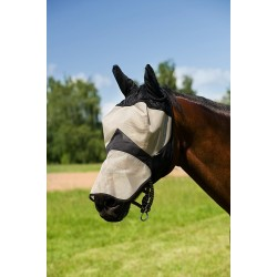 Thick mesh fly mask