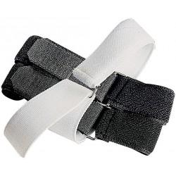 Fixation élastique auto-agrippante pour bandages