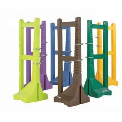 DOUBLE UPRIGHT POSTS IN POLYETHYLENE