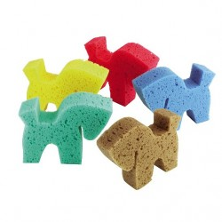 Esponja con forma caballo