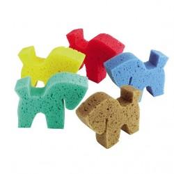 Horse shaped sponge