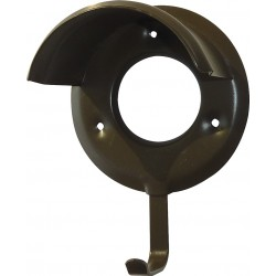 Bridle bracket plastic coated