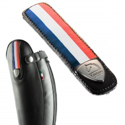 Leather Removable Straps With French Flag