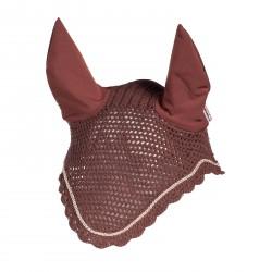 Bonnet Sam avec oreilles B Vertigo chasse-mouches Chocolat