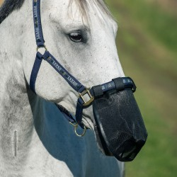 Horze Fly Cover for Nose Black